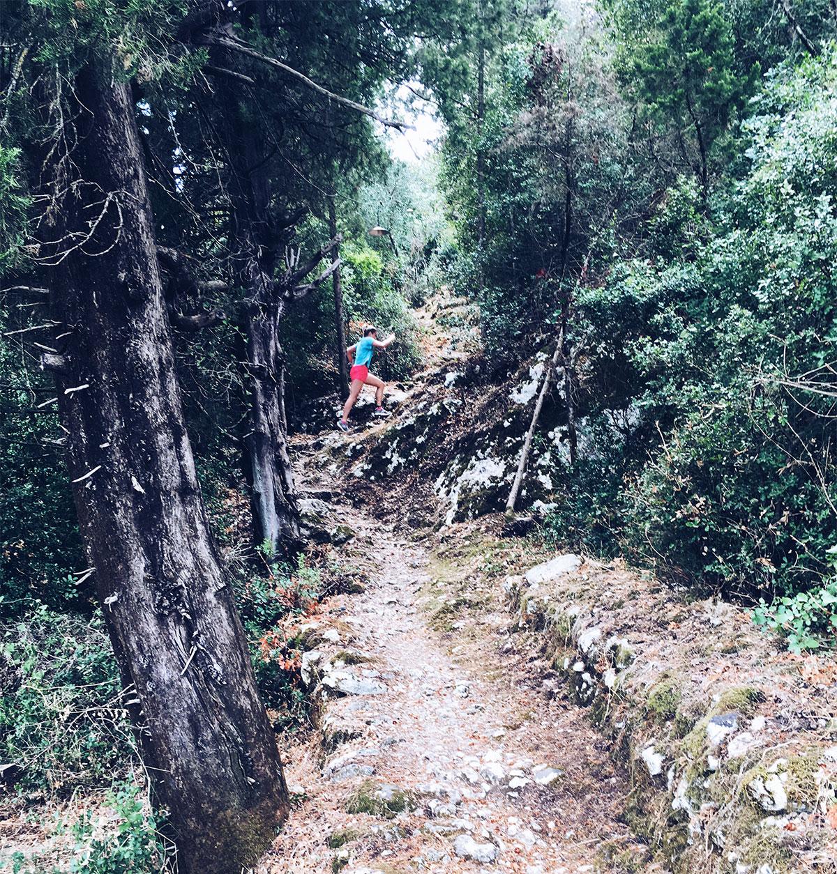 Heuveltraining in Griekenland