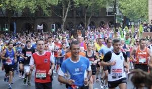 London Marathon - Sam Blom