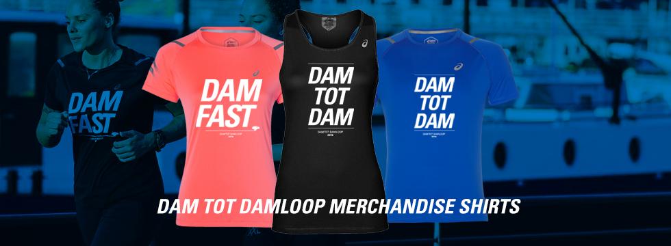 Dam tot Damloop 2019 shirts